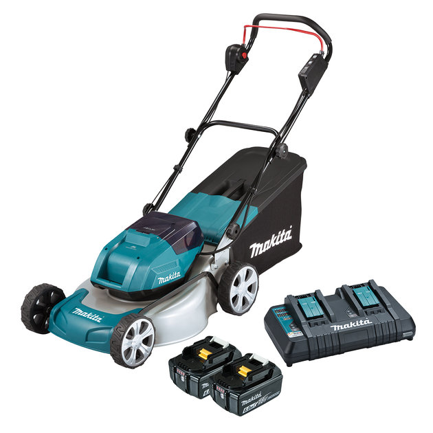 DLM460PG2-18Vx2 Brushless Lawn Mower 460mm Kit