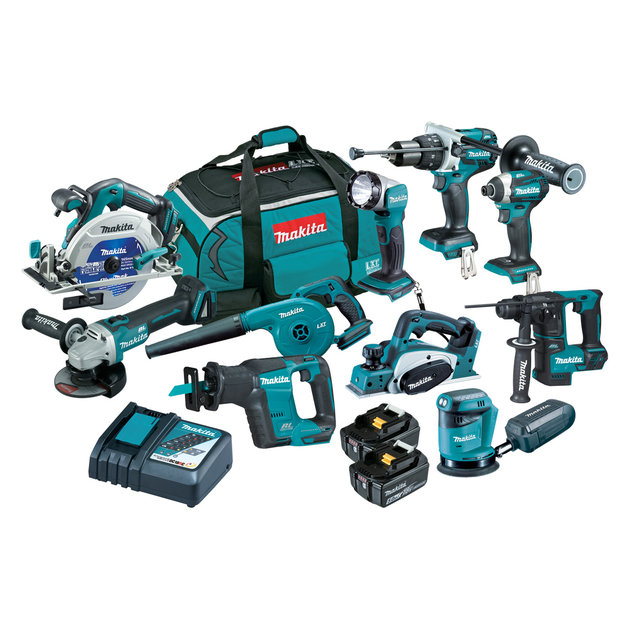 DLX1016TX1 - 18V Brushless 10-Piece Combo Kit