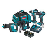 DLX4110T-18V Brushless 4 Piece Combo Kit